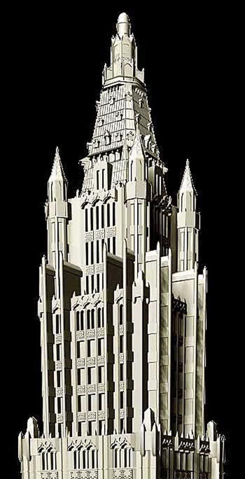 Woolworth Building (1911-1913 CE) NYC