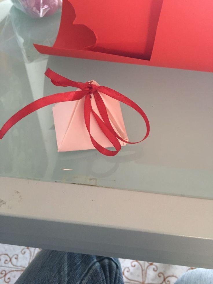 Scatolina porta regalo