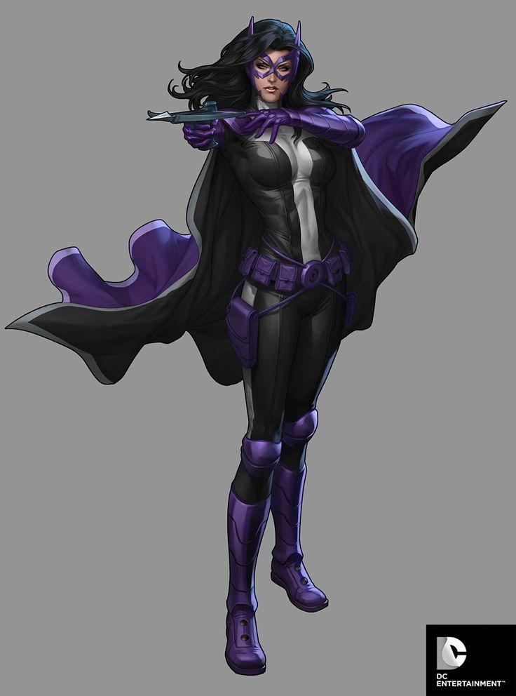 DC Comics Cover Girls - Huntress by Artgerm.deviantart.com on @deviantART