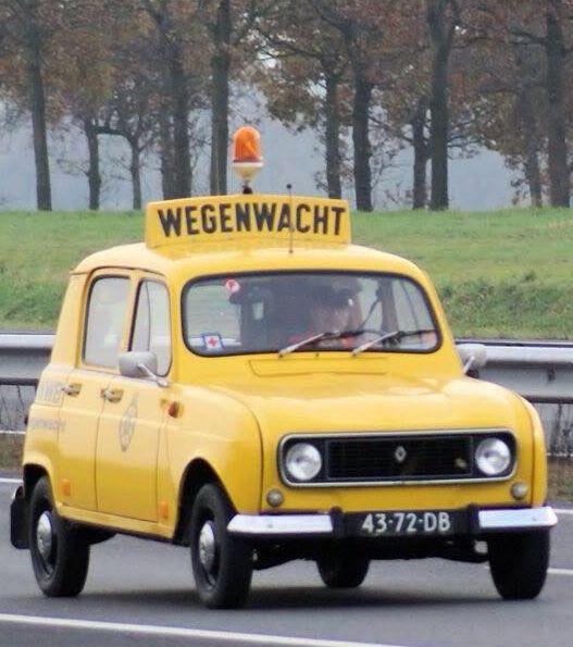 Renault 4 ANWB.