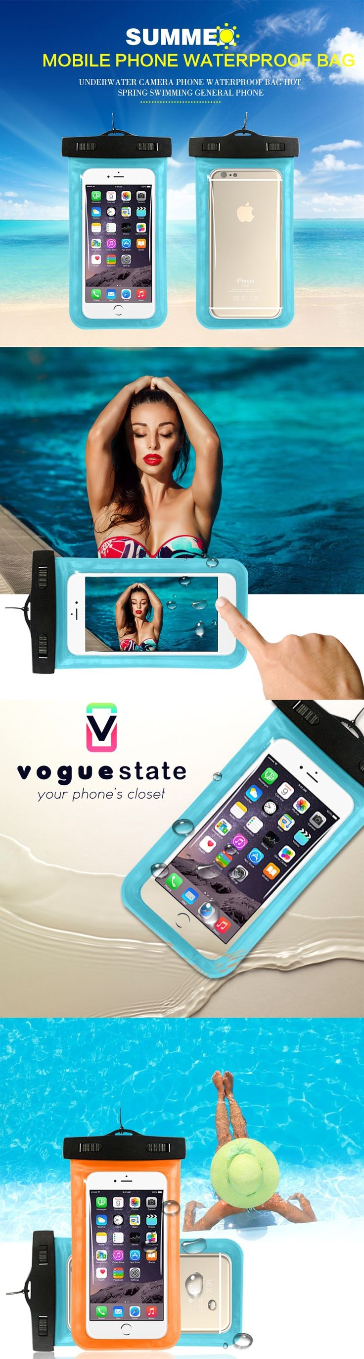 Waterproof universal Mobile Phone Case