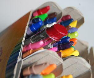 DIY Make lipstick with crayons