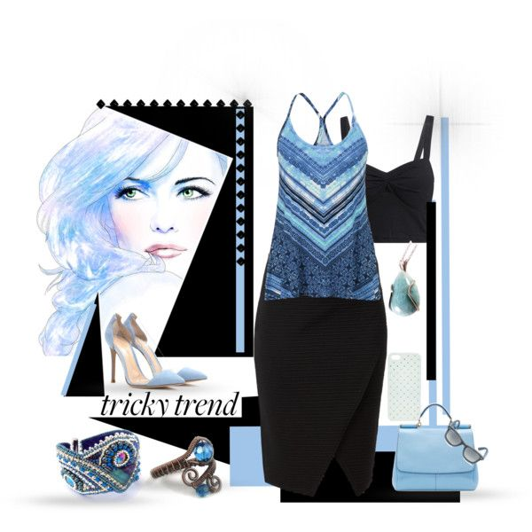 #polyvore #fashion #women #spring #summer #blue