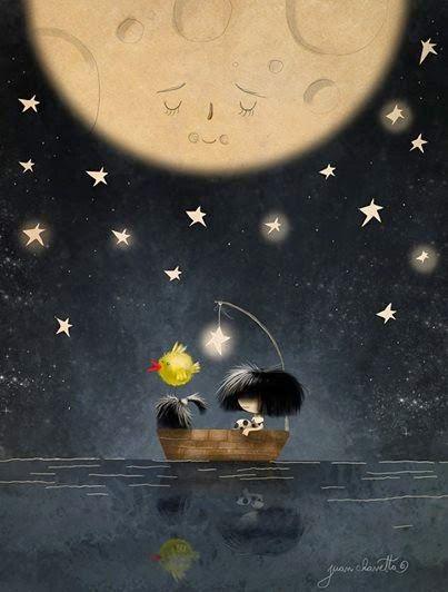 "Ilustración ""Calma"" by Juan Chavetta ♥ Butterfly Blue ♥: Lenguaje"