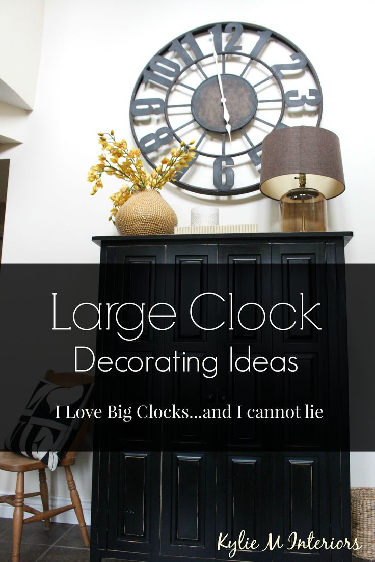Large Clock In Foyer : How to decorate with large clocks ideas metals and entryway