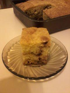 Süti és más...: Egyszerű fahéjas sütemény