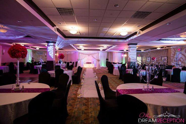 Hilton Garden Inn Lakeland Pink Wedding Ballroom Reception Loving Central Florida Pinterest