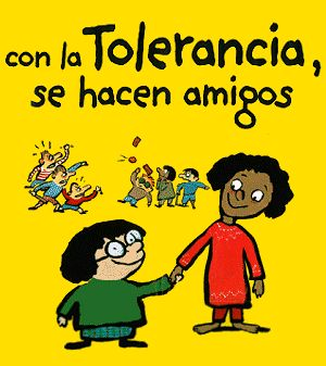 Hay que ser tolerantes en esta sociedad, y respetar las opiniones de los demás.