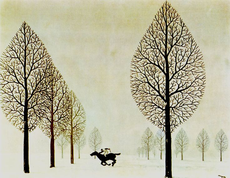 Rene Magritte - The Lost Jockey, 1948