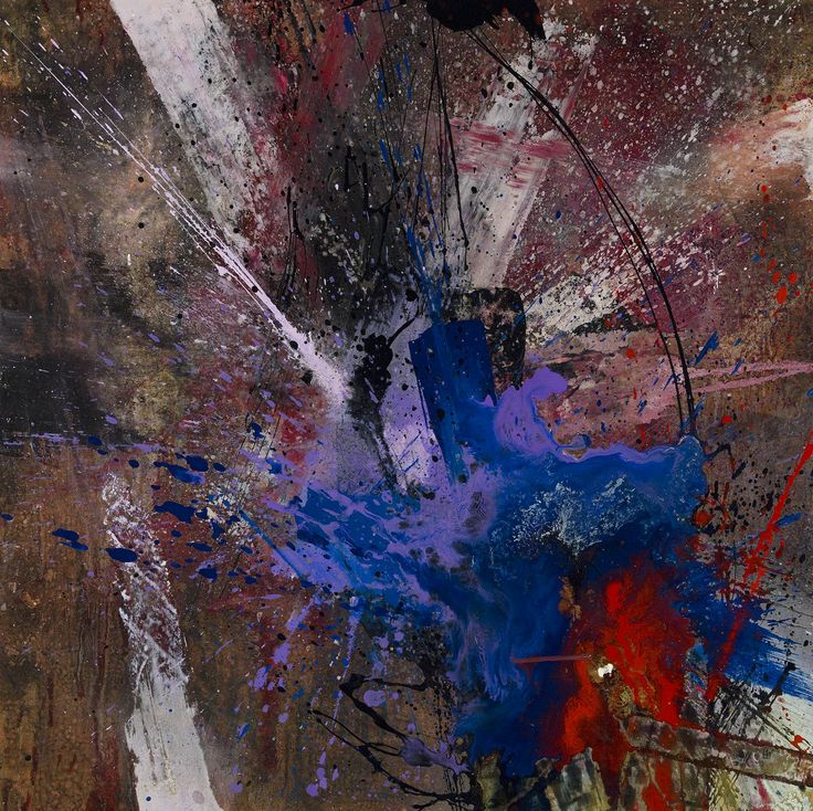 Blue Eruptions II