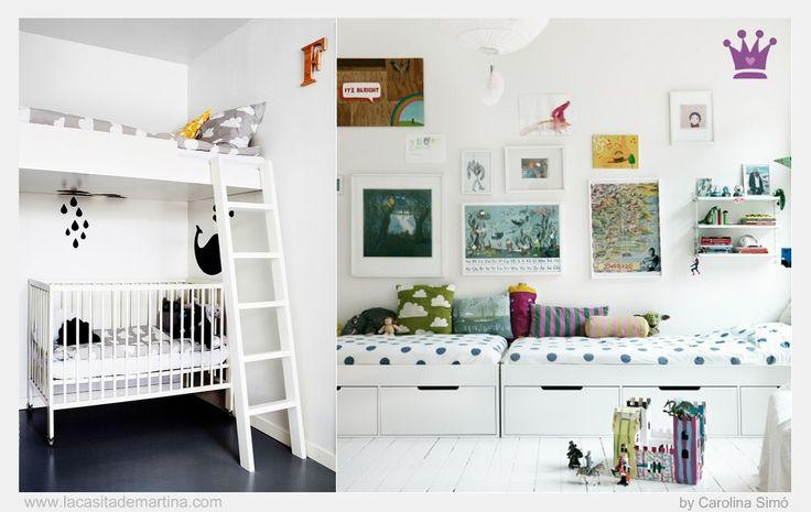 M s de 1000 ideas sobre habitaciones chulas en pinterest - Habitaciones infantiles ninos ...