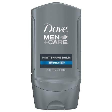 Dove Men+care Face Care Post Shave Balm Hydrate - 3.4 Oz.