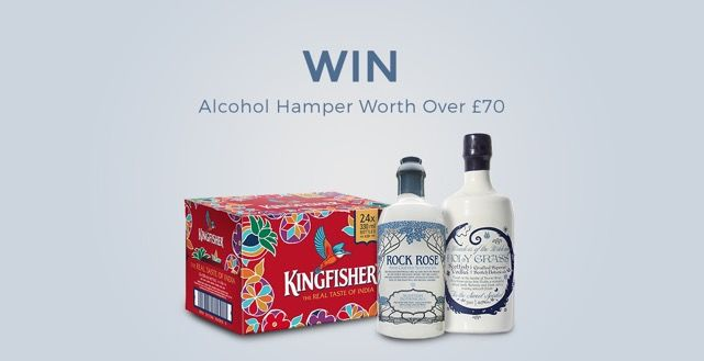 Win an Alcohol Hamper Worth Over £70