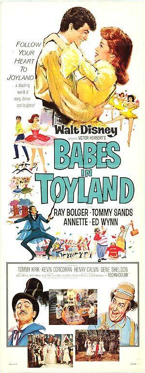 babes in toyland 1961 | 1961 - Babes in Toyland | Movie Geek | Pinterest