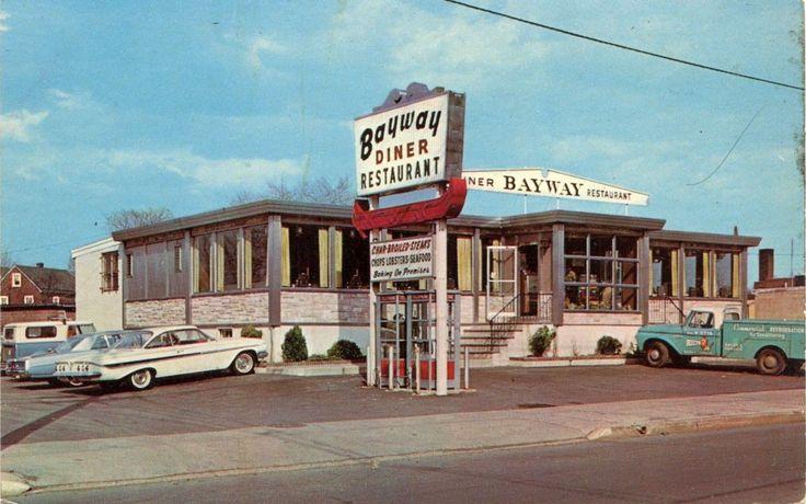 Bayway Diner Restaurant ELIZABETH NJ Road Culture Of PAST