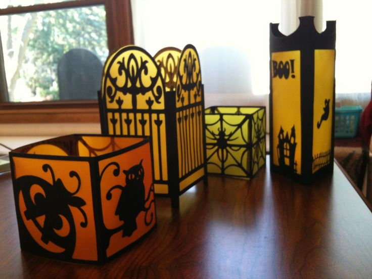 IDEA - Paper Halloween Lanterns