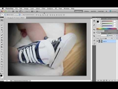 Grunderna i Photoshop CS5 - 17 Gör en vinjettering
