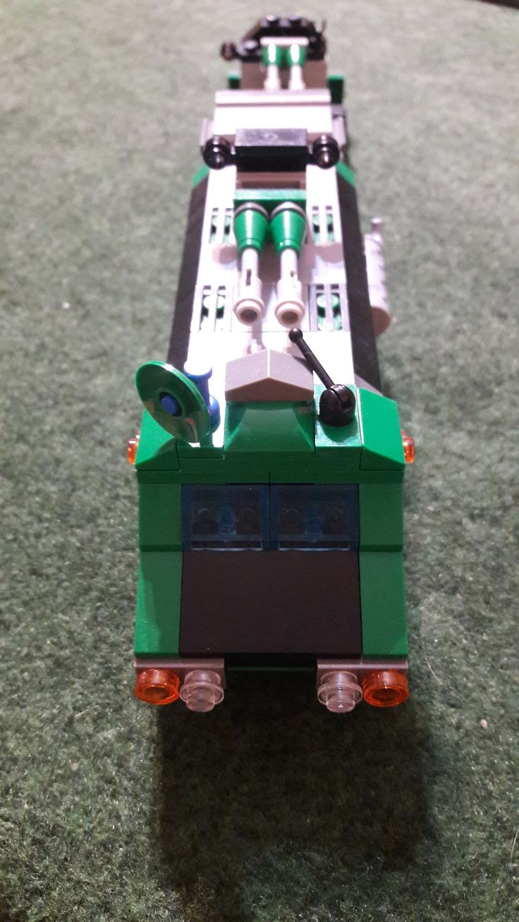 Lego batle car