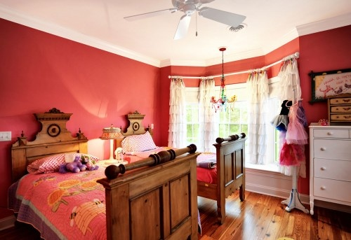 dreamy pink room for a girl (or two)Kids Bedrooms, Bedrooms Design, Girls Bedrooms, Photos Kids, Kids Room, Girls Room, Custom Home, Bedrooms Kids, Echelon Custom