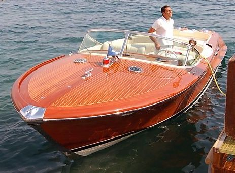 Italian Riva Aquarama Wooden Speed Boat