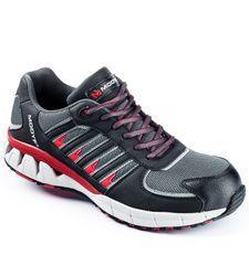 Chaussures de sécurité basses S1P Active noir-rouge