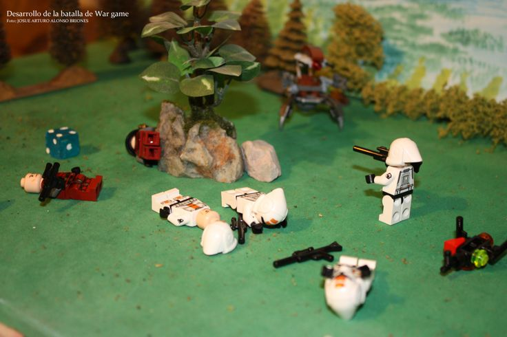 Combates a corta distancia denominados como Campaña Alpha de War Games