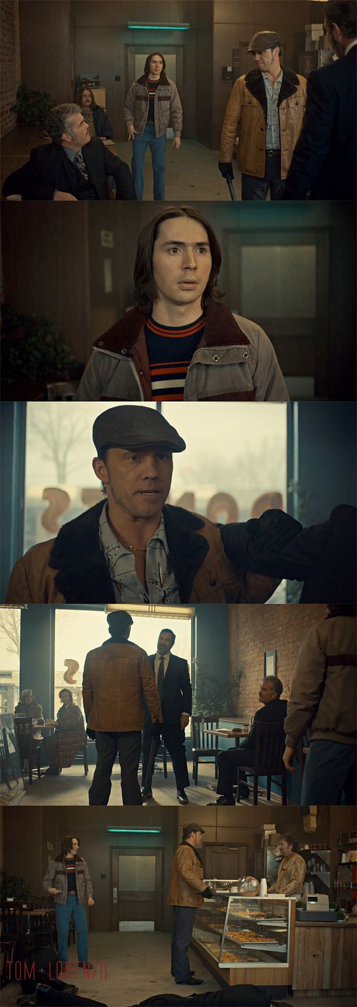 Fargo 'Fear and Trembling' Season 2 , Episode 4 | There is trouble at the Donut Shop and the the Native American henchman of the Gerhardt family and Floyd Gerhardt bring it.