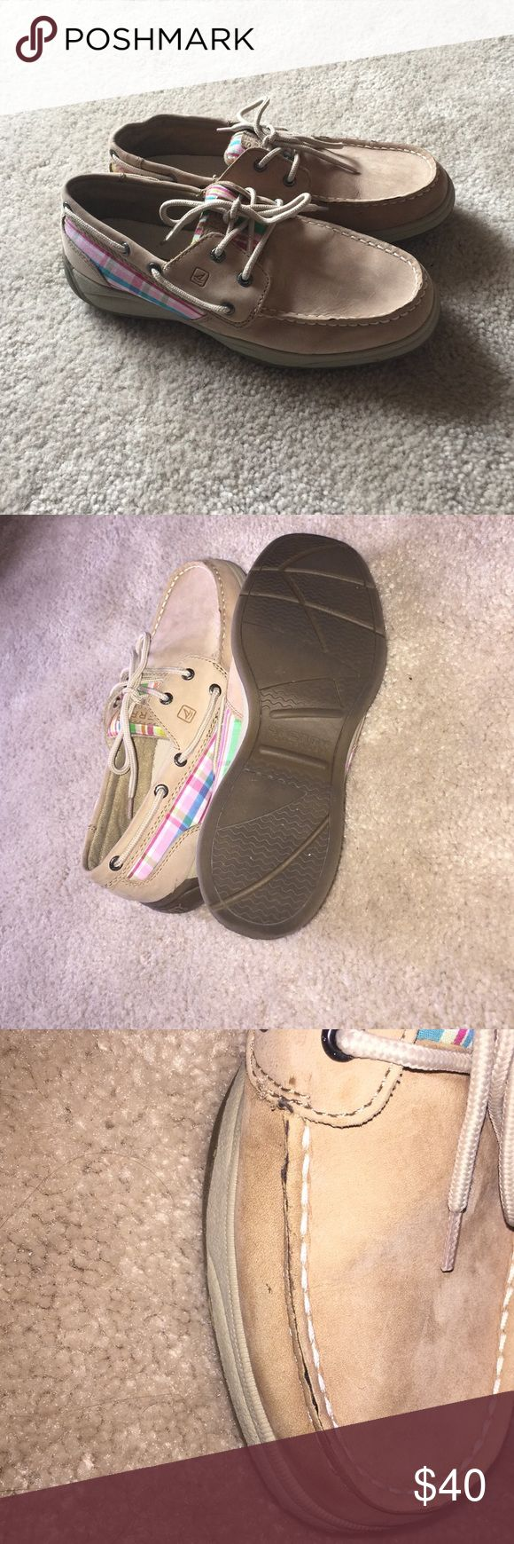 💕Sperry Top Siders Make an Offer Super cute sperrys. Size 6. See pictures! Make an offer Sperry Top-Sider Shoes