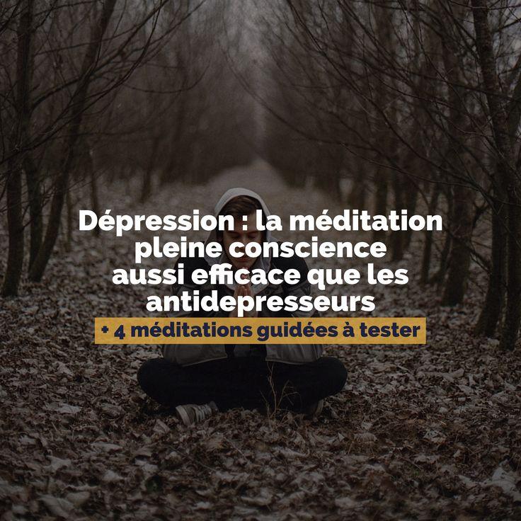 """Nous avions déjà évoqué le sujet dans la chronique consacrée au livre d'Antoine Pelissolo """"Dépression : s'enfermer ou s'en sortir"""" : la méditation pleine conscience est une excellente alternative pour lutter contre la dépression. C'est"""