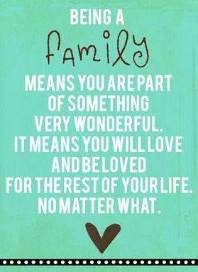 The meaning of family