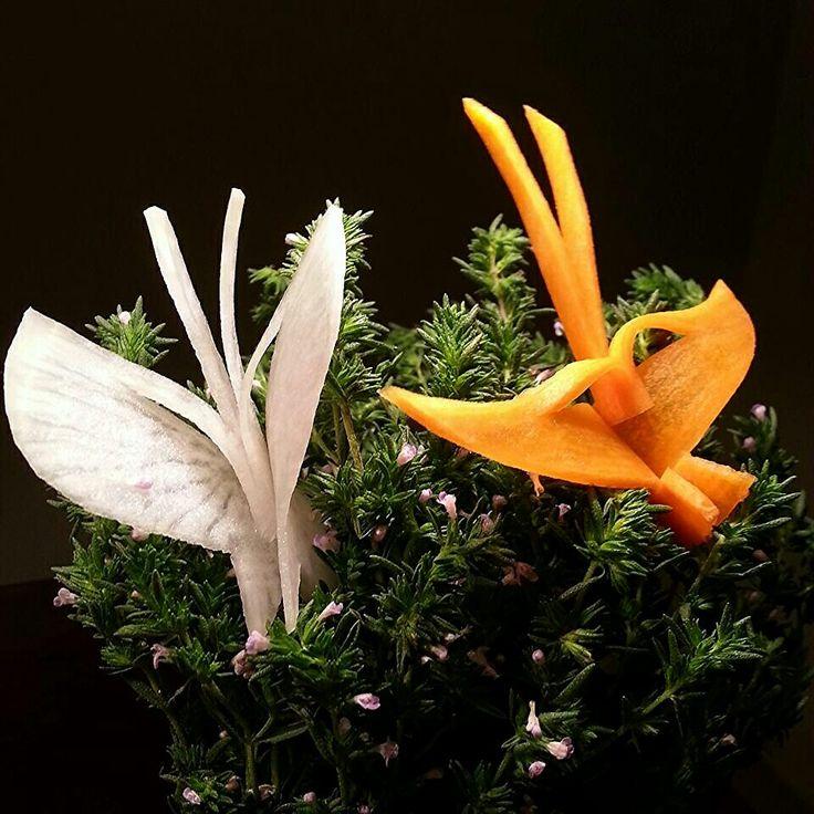 Carrot Butterfly