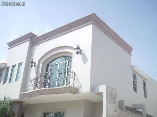 Molduras para exteriores decoracion del hogar - Molduras para ventanas exteriores casas ...