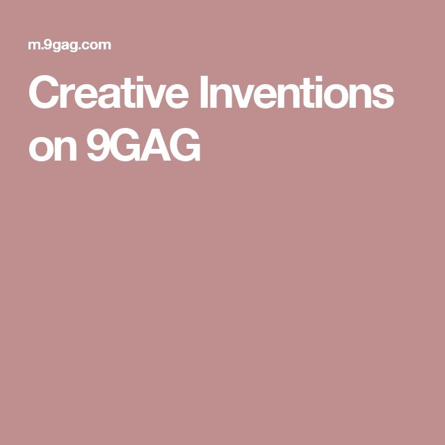 Creative Inventions on 9GAG