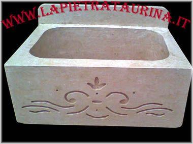 Lavelli in pietra lavelli da incasso lavabo per esterno lavabi lavandini in pietra lavandino in pietra da interno ed esterno arredo giardino, produzioni del Salento