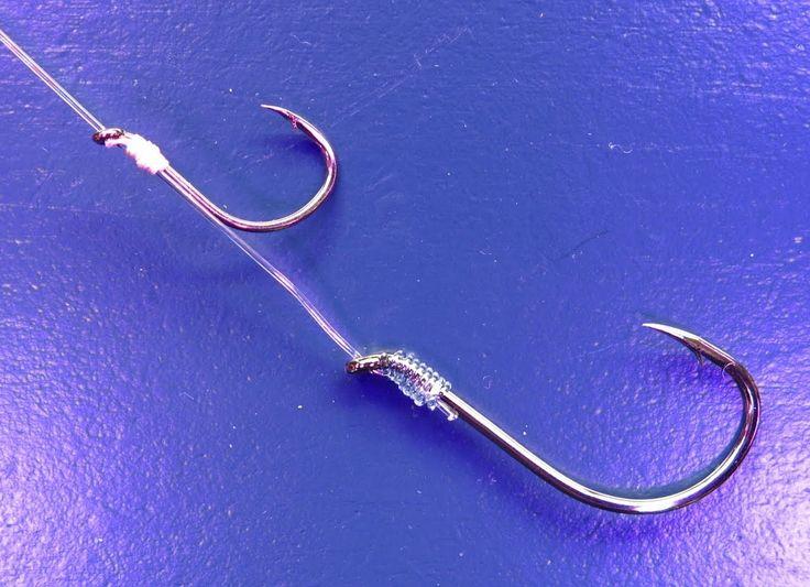 Adjustable Live Bait Fishing Rig Muy efectivo, comprobado, particularmente con los dos anzuelos del mismo tamaño.