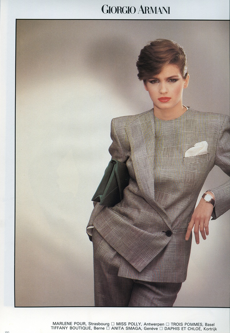 Gia Carangi – Poor tortured soul. I loved her with short hair!!