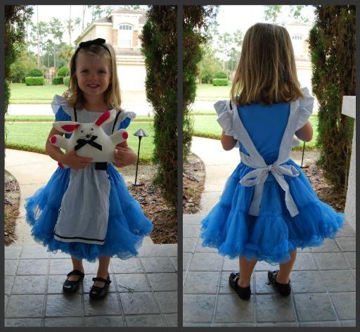 Great DIY Alice in Wonderland costume