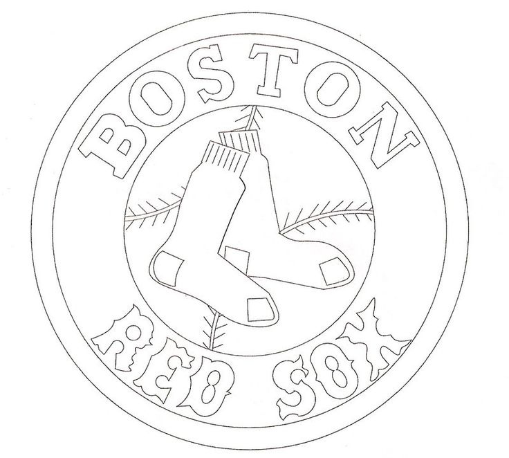 96 best images about bright lights big city on pinterest for Red sox coloring pages