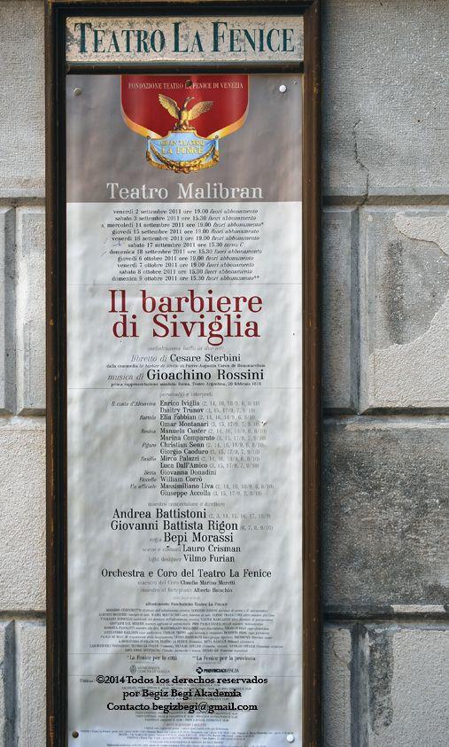 Opera en La Fenice. Inolvidables sensaciones