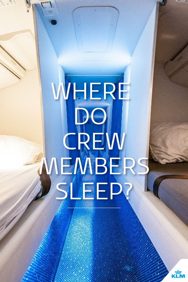 However long the flight, my preferred pastime is looking out the window. But after staring outside for a few hours, I really do feel a bit tired. Time to take a nap… From the comfort of my seat, I wonder how the crew members sleep on board an aircraft. Perhaps there are special bedrooms on board?