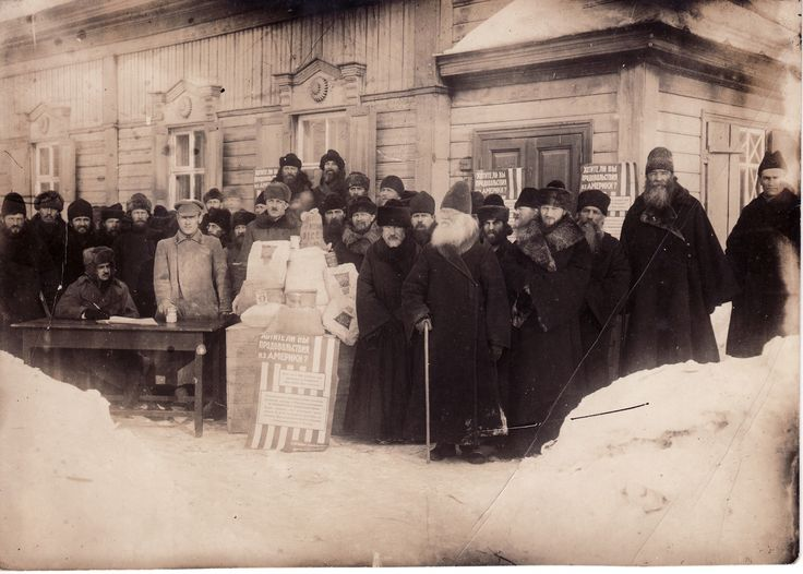 a devastating famine on Soviet Russia from October 1921 to September 1922, during the most critical period of starvation, more than 700 thousand. food parcels in the amount of $ 7 million. was purchased and delivered to Russia (in prices of 1921).