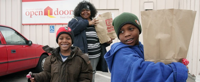 In 2007, the agency changed its name to United Methodist Open Door to better reflect its purpose and mission to provide food, clothing and shelter. Today the agency continues to open our doors-and hearts-to more than 14,700 people in need each month.