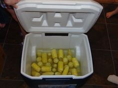 How to Cook Corn in a Cooler