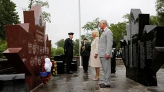 Prince Charles and Camilla honour troops on Canada tour