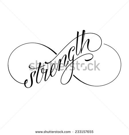 Infinity strength icon valentines day vector symbol - stock vector