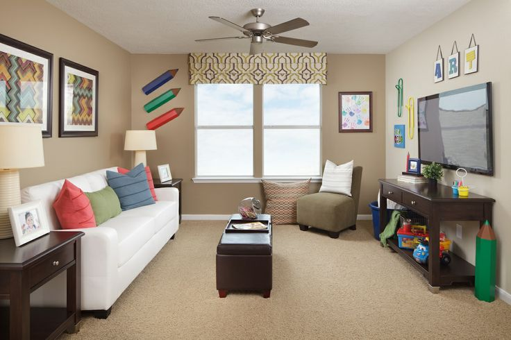 Playroom Game Room Combination Idea Plan 2961 Loft