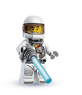 """Spaceman -- """"Greetings, strange creatures. I come in peace!"""" 