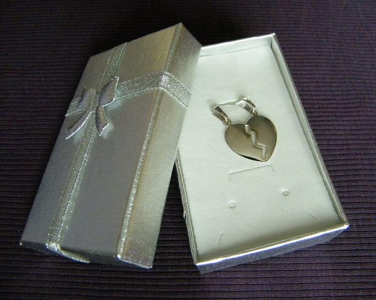 jewellery - silver heart for two / biżuteria - srebrne serce dla dwojga