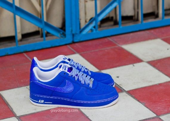 Air Force 1 Shoes Blue