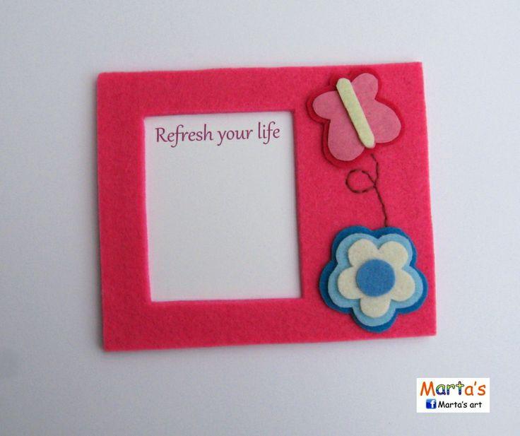 felt fridge magnet for notes